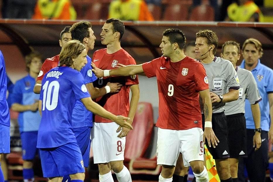 Luka Modrić Aleksandar Mitrović Srbija Hrvatska kvalifikacije