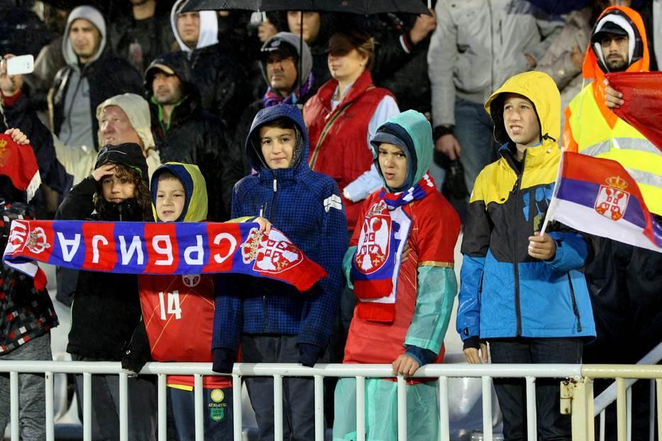 Srbija reprezentacija navijači