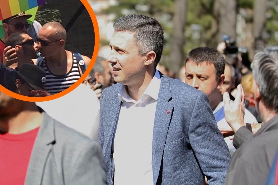 Boško Obradović, gej parada, LGBT