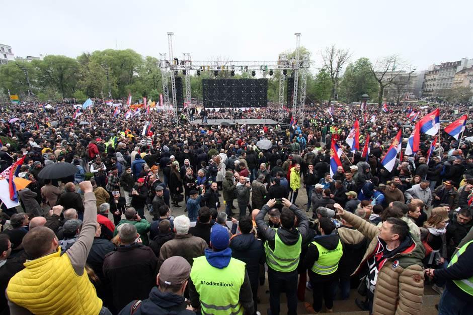 1 od 5 miliona, protest, opozicicja