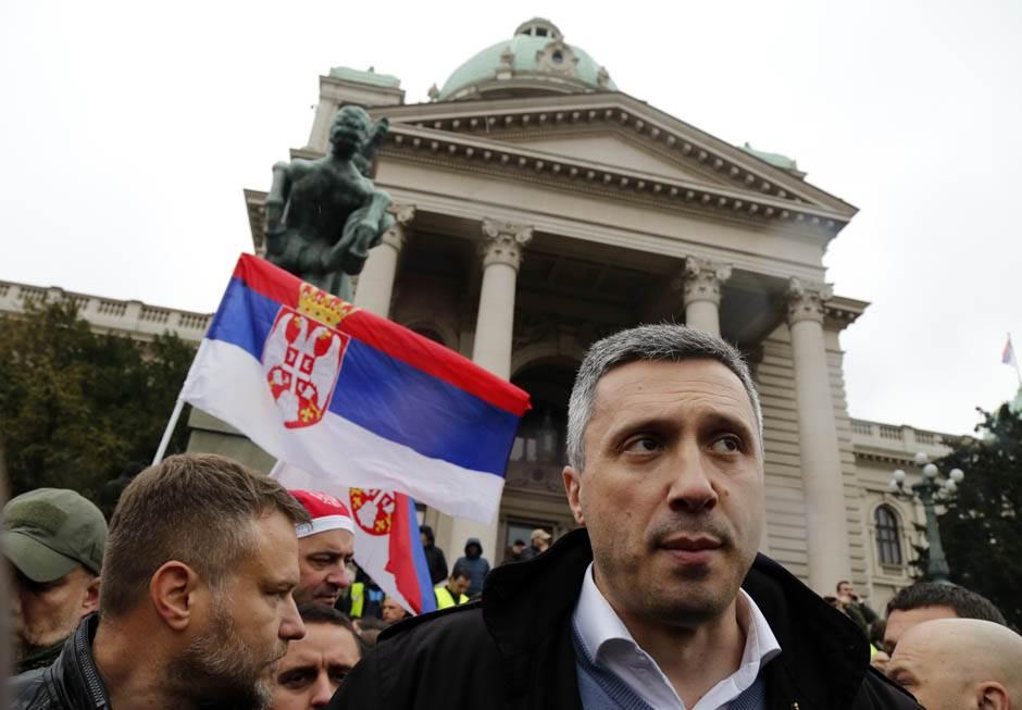 Stefanović: Kako smo izračunali broj ljudi na protestu