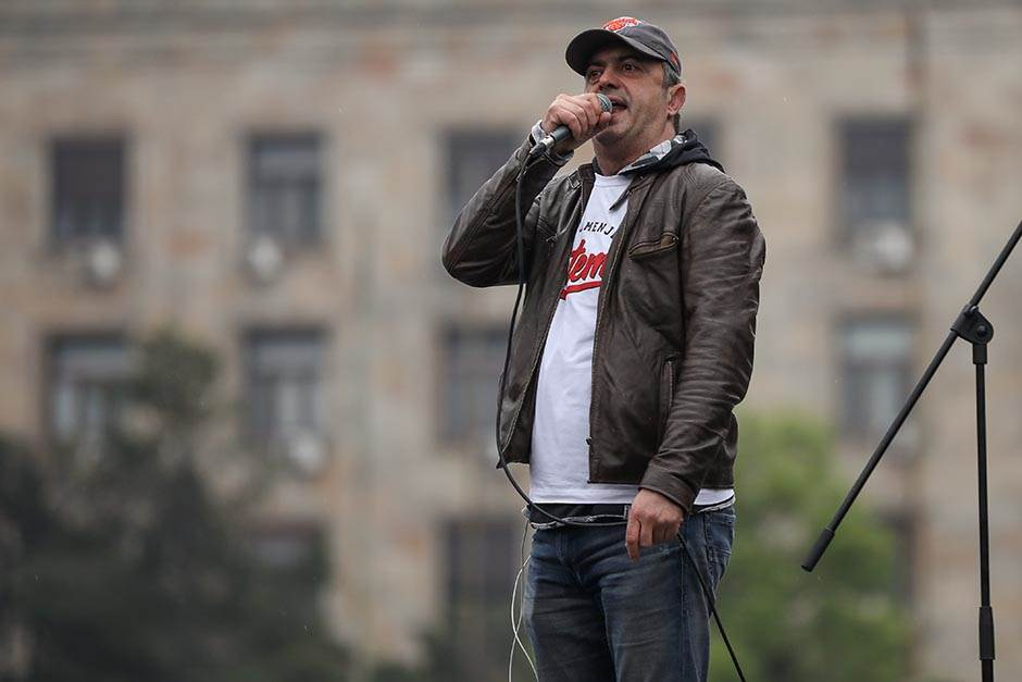 sergej trifunović, protesti