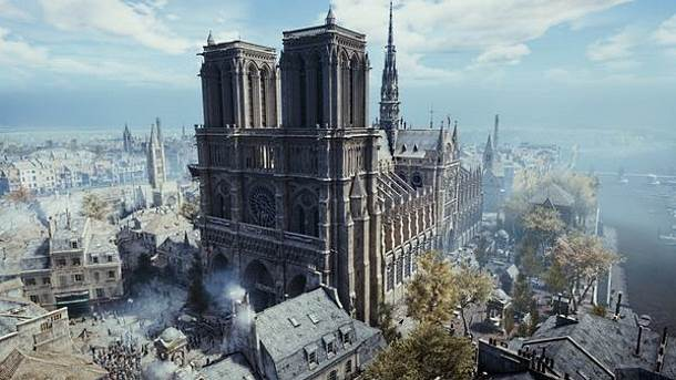 Assassins Creed: Unity, Notr Dam