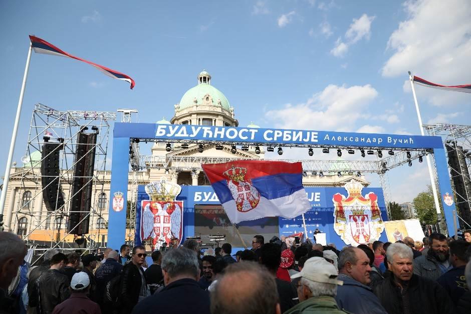 Ana Brnabić: Srbija u EU, nismo podeljena zemlja VIDEO