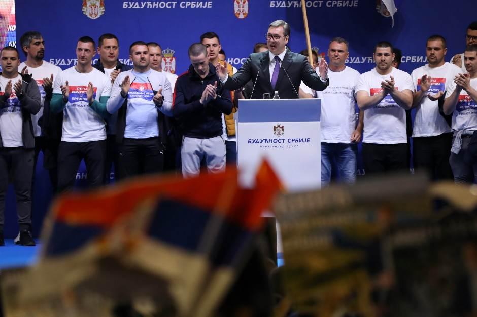 Masovna podrška Vučiću! Policija: 150.000 ljudi (VIDEO)