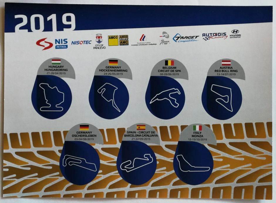 Počinju TCR šampionati u kojima učestvuju 3 naša vozača
