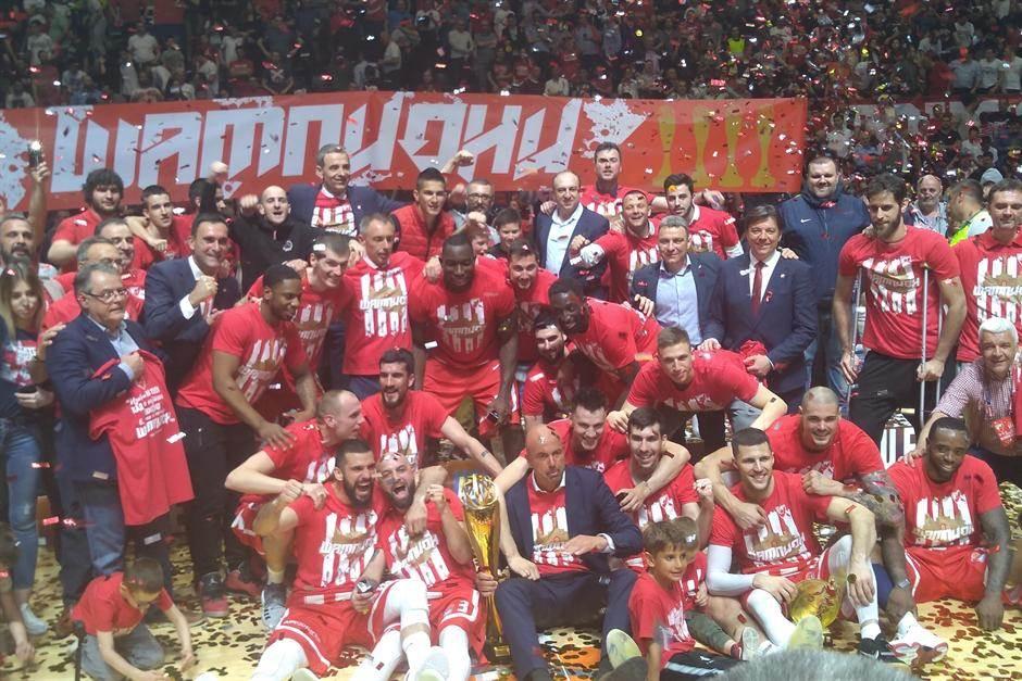 KK Crvena zvezda šampion ABA