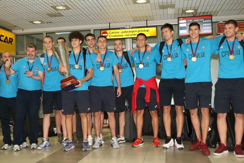 Orlići prvaci Evrope U-18 reprezentacija Srbije