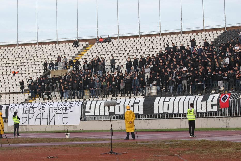 Grobari navijači FK Partizan