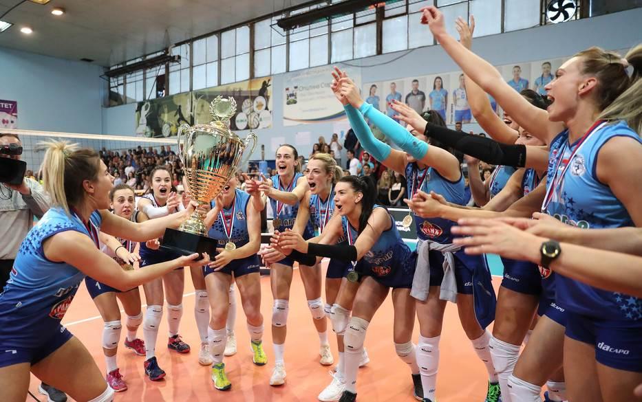 Šampionska kruna damama iz Lajkovca