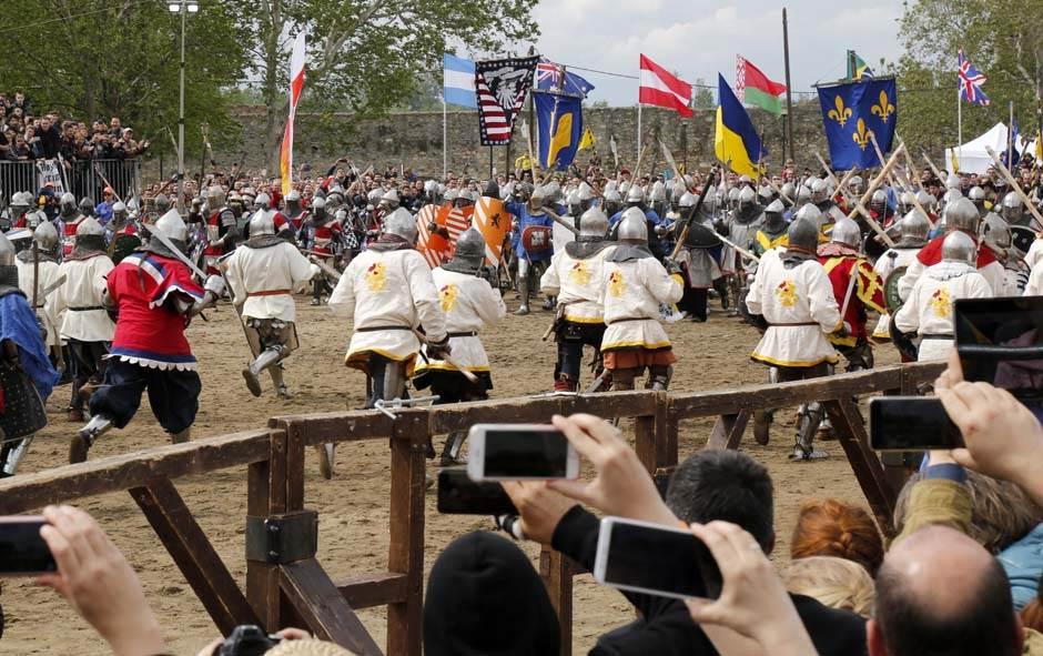 Bitka u Smederevu: 150 na 150! Rusi najbolji (VIDEO)