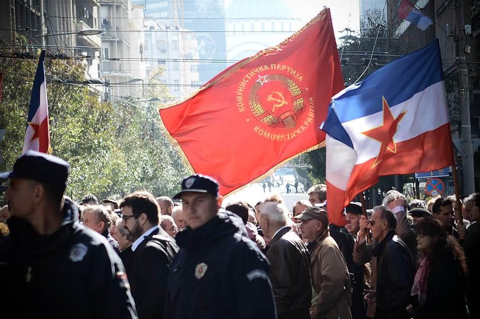 dan pobede nad fašizmom, dan oslobođenja beograda, petokraka, jugoslavija, komunistička partija