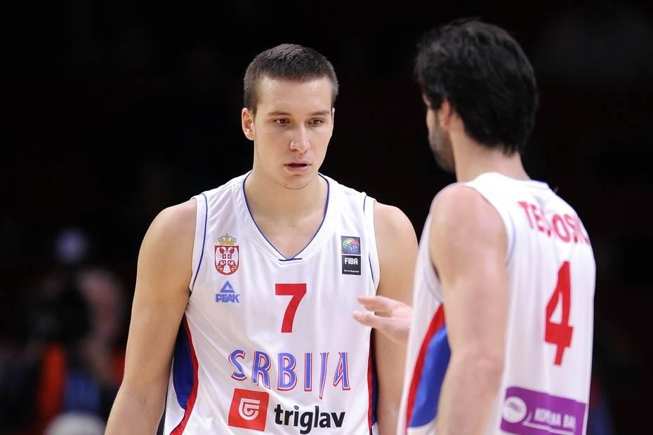 Miloš Teodosić i Bogdan Bogdanović
