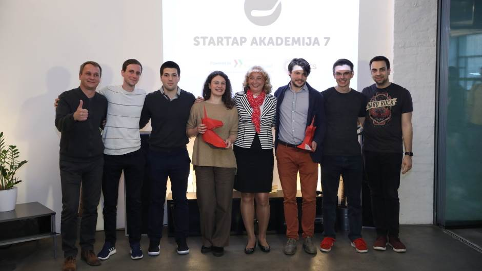 Najbolji startap timovi dobili po 10.000 evra