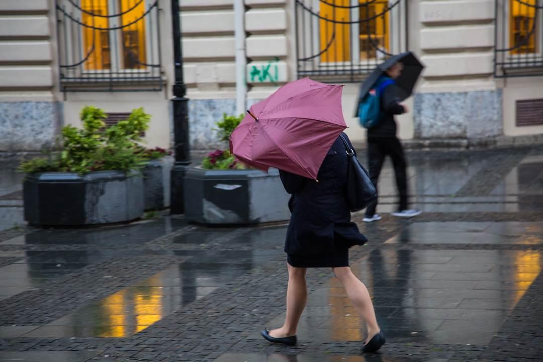 kiša, kišobran, pljusak