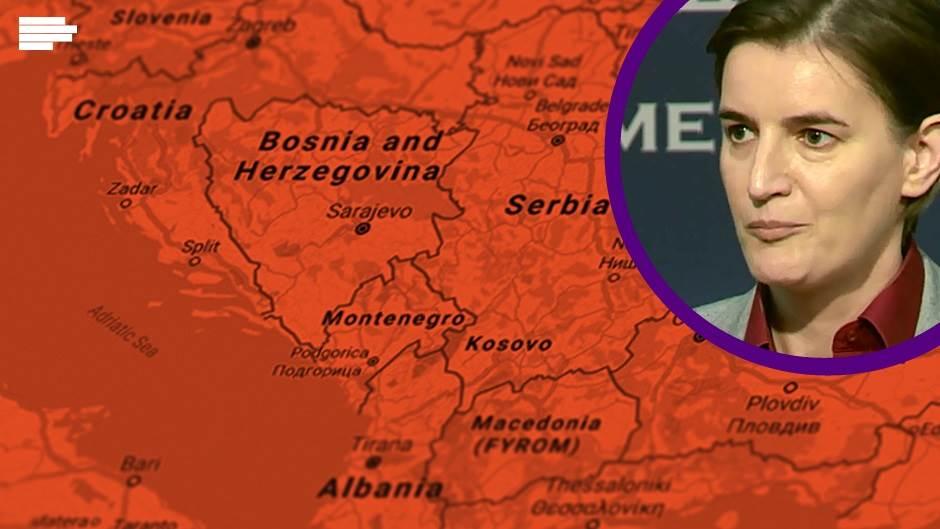 """Ana Brnabić: """"Ljudi iz šume"""" su teroristi, ne Pacoli"""