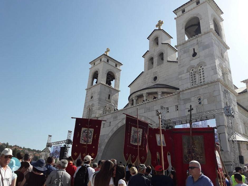 Veliki sabor SPC: U Podgorici brane svetinje Srba VIDEO