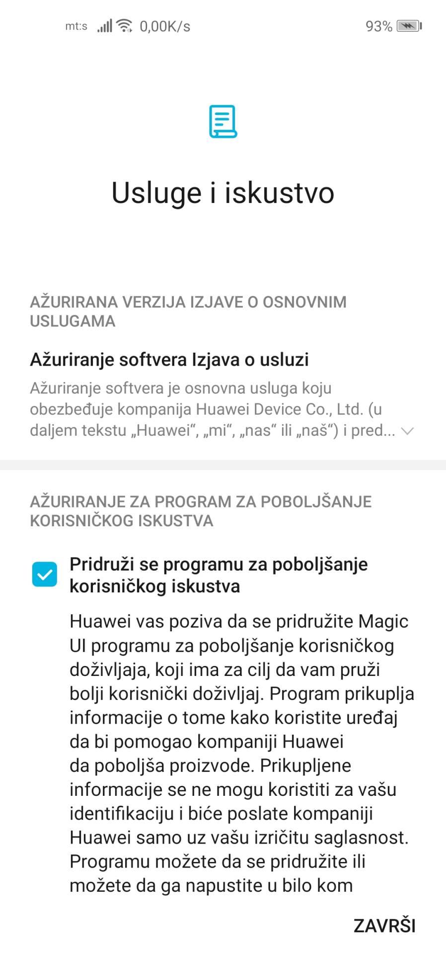 HONOR nastavio ažuriranja telefona u Srbiji