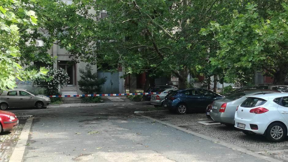 Svađa i pucnjava na Novom Beogradu! (FOTO, VIDEO)