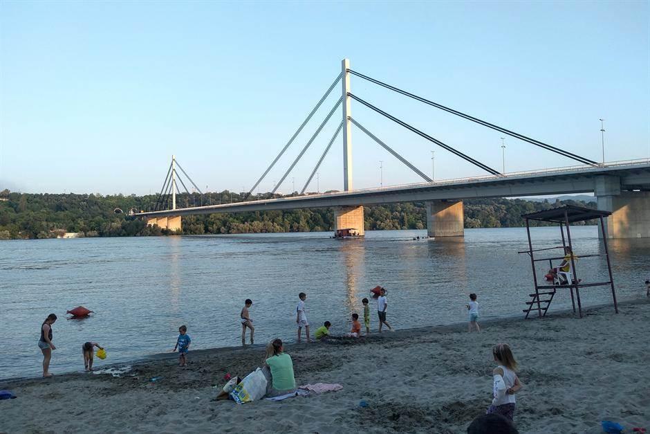 Novi Sad, Štrand, Dunav