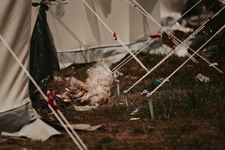 Migrantski kamp Vučjak kod Bihaća: Gore od zatvora FOTO