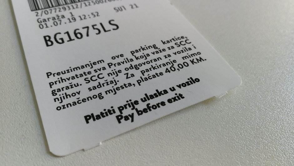 parking karta