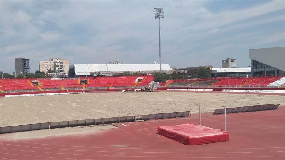 Vojvodina, Karađorđe, stadion Vojvodine