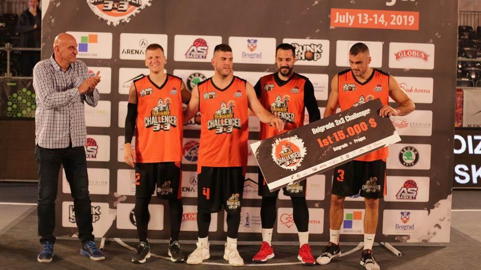 """Basket 3x3: Zemunci """"odneli"""" trofej iz Beograda!"""