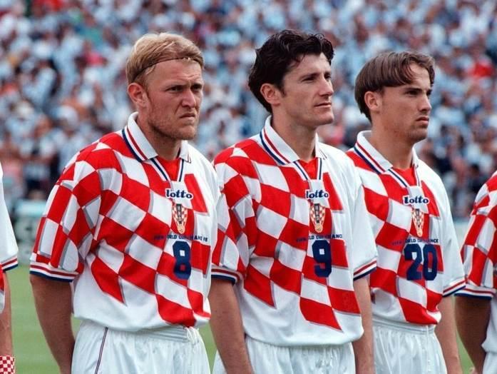 Mario Stanić, Robert Prosinečki, Davor Šuker i Dario Šimić.