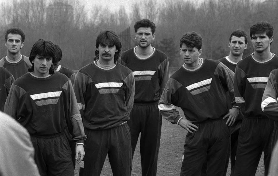 Početak priprema FK Rad za sezonu 1991/92.