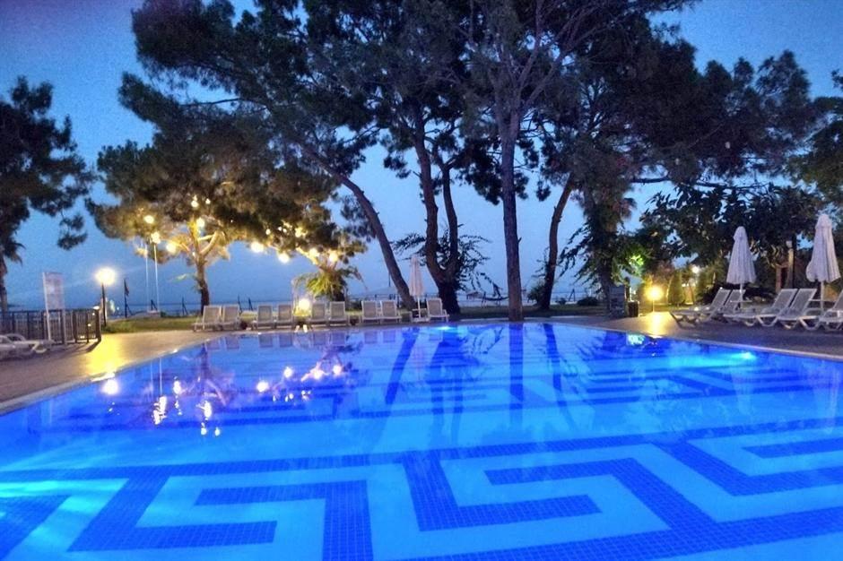 bazen, leto, more, turska