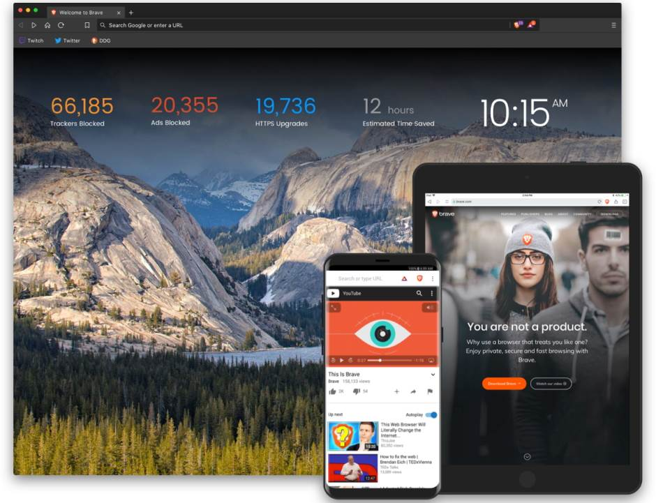 Brave internet browser kakav je, Da li je Brave bolji nego Chrome, Brave brži nego Chrome i Firefox