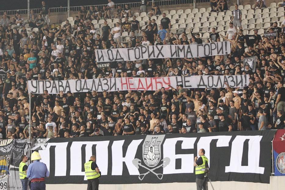 Partizan, Grobari, Nedić