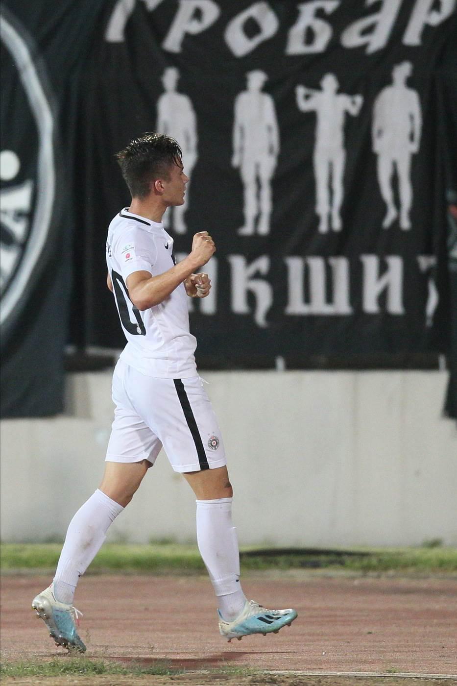 Filip Stevanović, Partizan