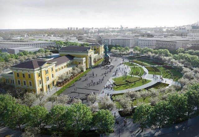 POČINJE rekonstrukcija Savskog trga, radovi do februara
