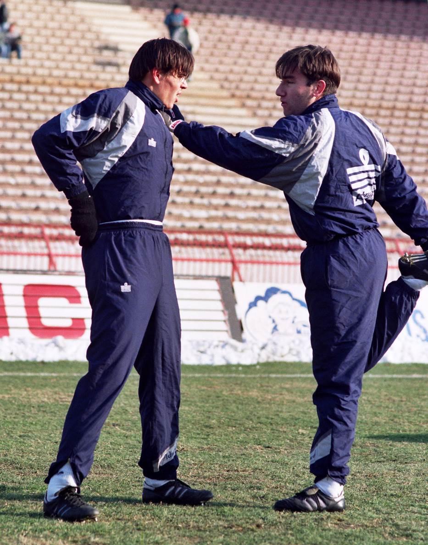 Savo Milošević i Dejan Čurović.