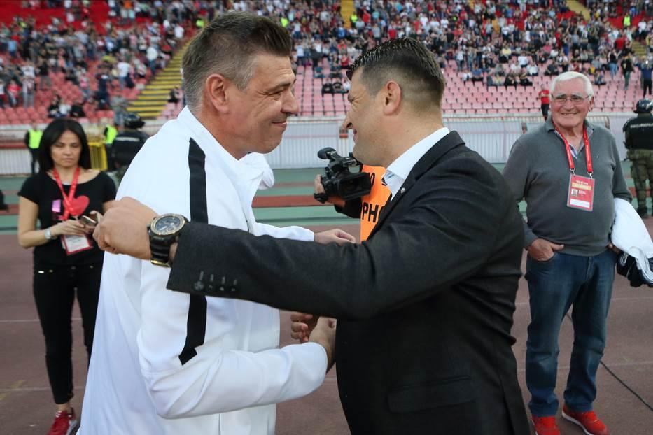 Savo Milošević Vladan Milojević večiti derbi