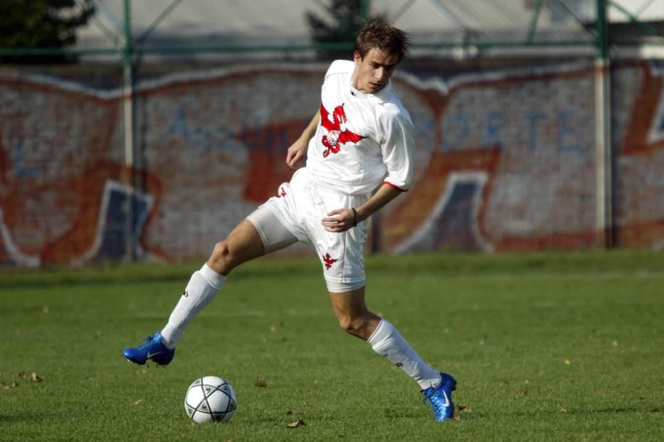 Marko Dević u dresu Voždovca 2004. godine.