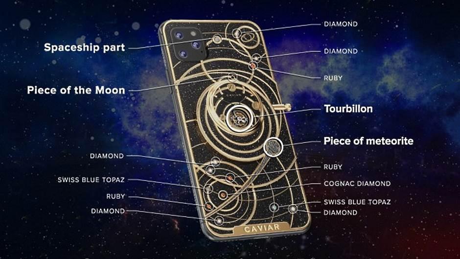 iPhone 11 Space Edition Caviar Rusija
