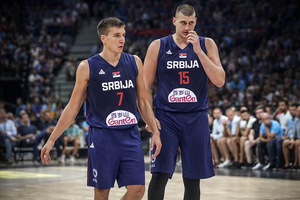 bogdanović jokić, bogdan bogdanović, nikola jokić, mundobasket, košarkaši srbije, srbija, reprezentacija