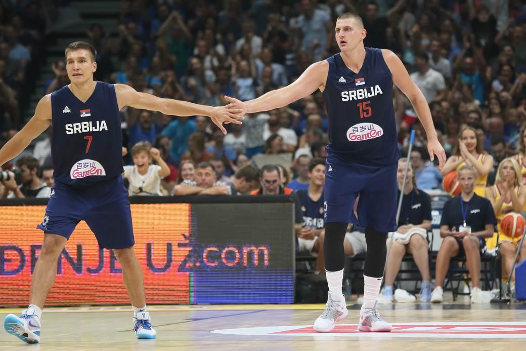 Srbija Krenula Odlično U Kini Za Zagrevanje Pobeda Od 46