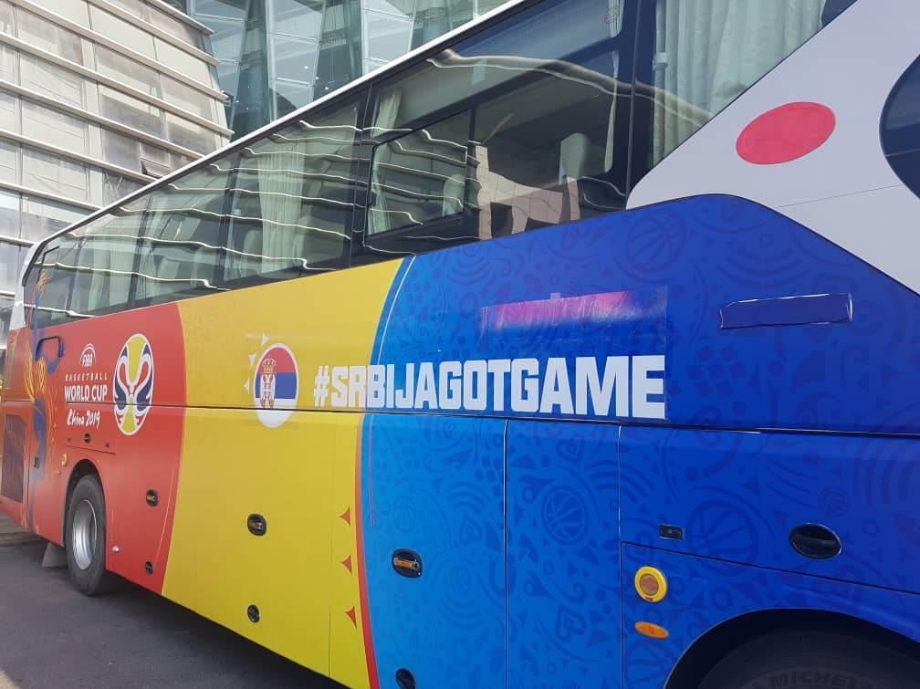 Autobus orlovi Mundobasket