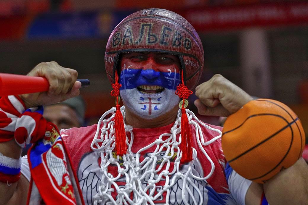 kina, mundobasket, navijač