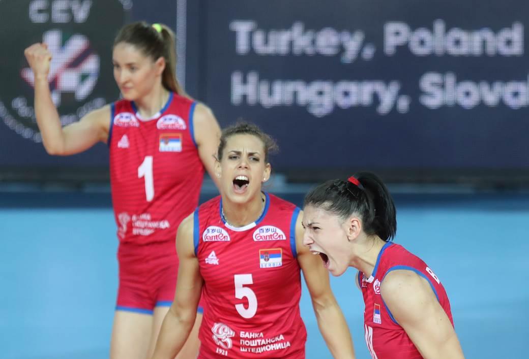VOLLEYBALL;CEV EUROPEAN WOMEN'S CHAMPIONSHIP;SERBIA;BULGARIA