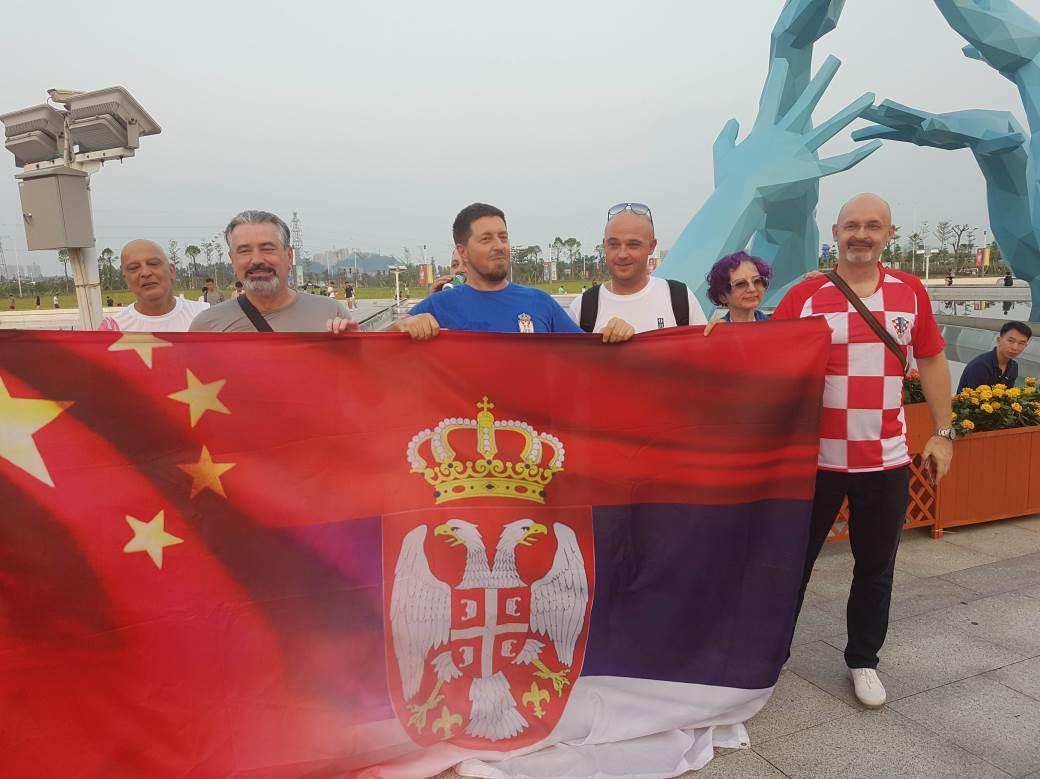 Navijači Mundobasket Srbija Hrvatska