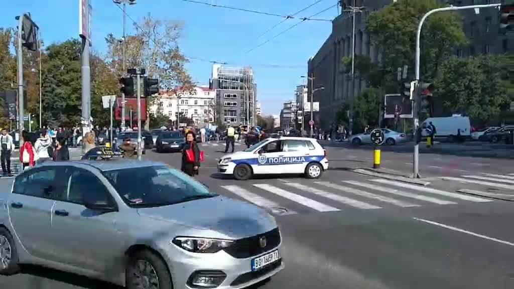 Taksisti protestuju (INFO)