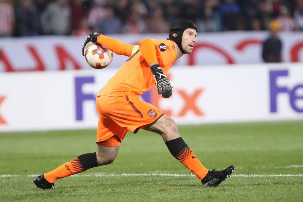 Petr Čeh na utakmici protiv Crvene zvezde