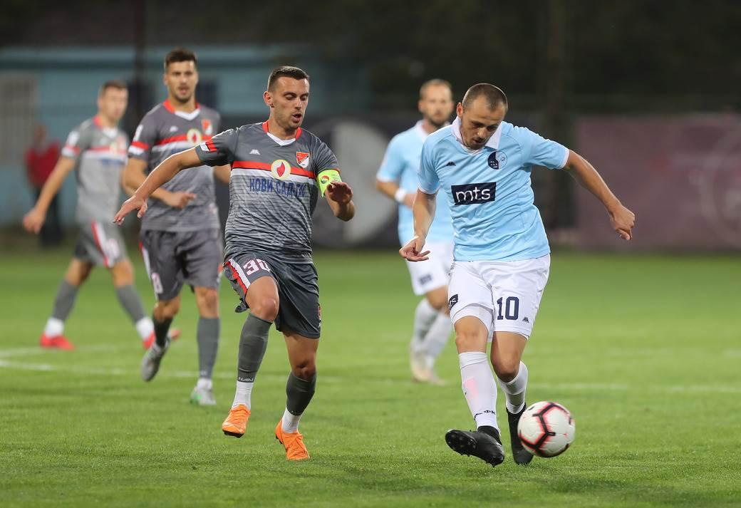 Miloš Bosančić, FK Rad