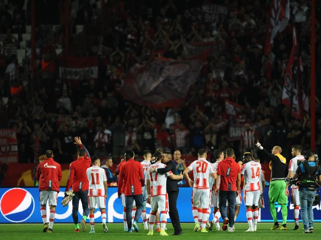 Crvena zvezda Liga šampiona Delije
