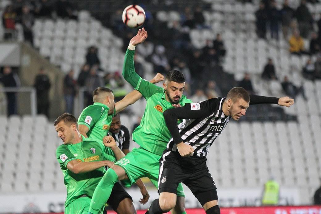 Partizan, Inđija